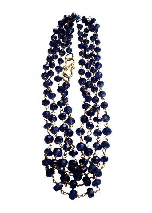 Sapphire Whisper Necklace